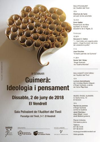 III Seminar - Guimerà: Ideologia i pensament
