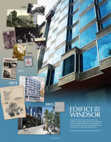 Plafó edifici Windsor