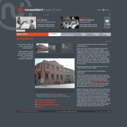 Rocaumbert | Espai d'arts