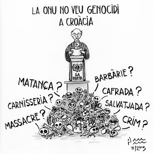La ONU no veu genocidi a Croàcia