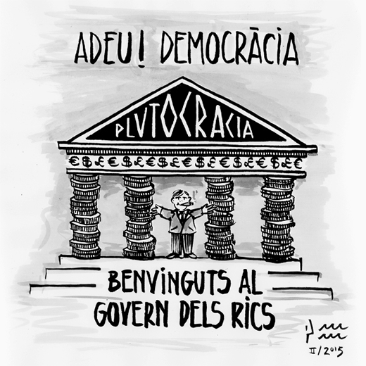 Adéu! Democràcia